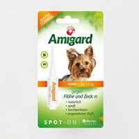 Amigard Spot-on Hund bis 15 kg 1 x 2 ml