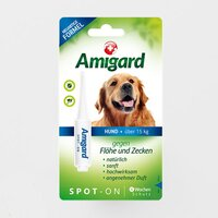 Amigard Spot-on Hund ab 15 kg 1 x 4 ml