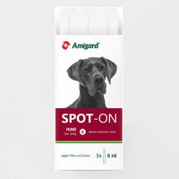 Amigard Spot-on Hund ab 30 kg 3 x 6 ml